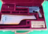 MAUSER PRE- WAR COMMERCIAL BROOMHANDLE HARD CASED WITH STOCK - 1 of 12