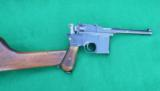 MAUSER PRE- WAR COMMERCIAL BROOMHANDLE HARD CASED WITH STOCK - 12 of 12