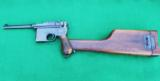 MAUSER PRE- WAR COMMERCIAL BROOMHANDLE HARD CASED WITH STOCK - 10 of 12
