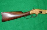 WINCHESTER 1866 YELLOW BOY SADDLE RING CARBINE - UNIQUE - SHOOTS INEXPENSIVE CENTERFIRE AMMO
