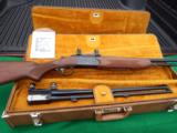 VALMET DOUBLE RIFLE HUNTERS TRAVEL SET WITH TWO BARRELS –ONE 30-06 X 30-06AND ONE 300 H&H MAGNUM X 300 H&H MAGNUM