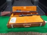 VALMET DOUBLE RIFLE HUNTERS TRAVEL SET WITH TWO BARRELS –