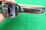 DWM GERMAN POLICE LUGER WITH SEAR SAFETY AND RARE UNIT MARKING, FOR ADVANCED COLLECTOR - 3 of 7