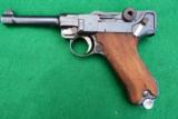 DWM GERMAN POLICE LUGER WITH SEAR SAFETY AND RARE UNIT MARKING, FOR ADVANCED COLLECTOR - 2 of 7