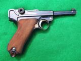 DWM IMPERIAL LUGER – COMBAT UNIT MARKED – COLLECTOR GRADE – WITH LEATHER- 3 of 10