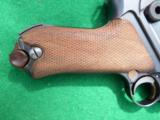 DWM IMPERIAL LUGER – COMBAT UNIT MARKED – COLLECTOR GRADE – WITH LEATHER- 6 of 10