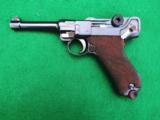 DWM IMPERIAL LUGER – MILITARY – COLLECTOR GRADE – MATCHING LEATHER - 2 of 9