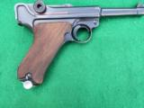 MAUSER WWII LUGER – 42 CODE IN COLLECTOR GRADE WITH LEATHER - 2 of 9