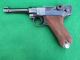 MAUSER WWII LUGER – 42 CODE IN COLLECTOR GRADE WITH LEATHER - 1 of 9
