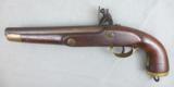 12-32 Belgian Naval Cavalry Flintlock Pistol - 5 of 13