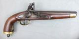 12-32 Belgian Naval Cavalry Flintlock Pistol - 1 of 13