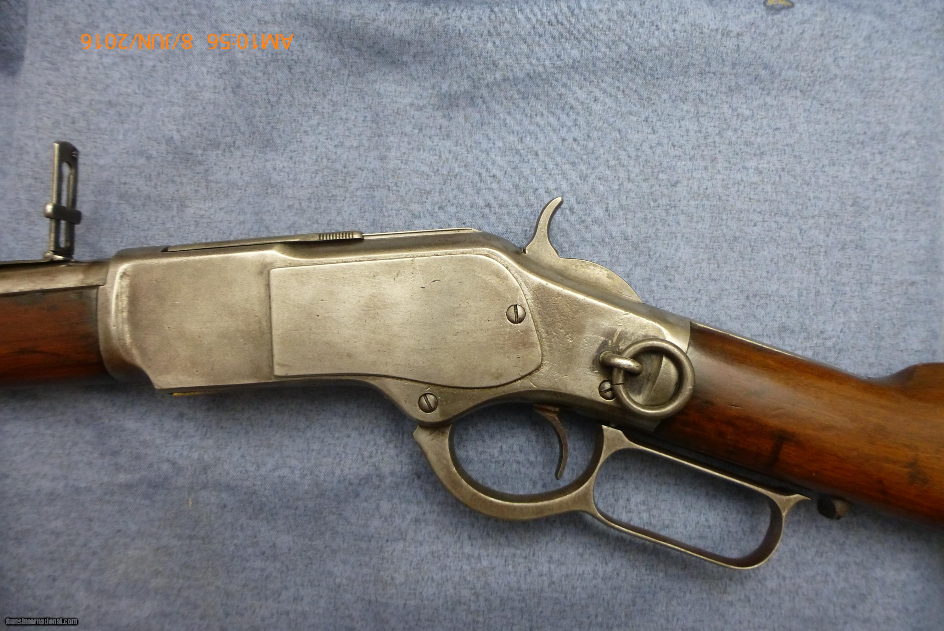 WINCHESTER MODEL 1873 SADDLE RING CARBINE .44-40 CAL.