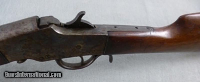 Hopkins Amp Allen Falling Rolling Block Rifle