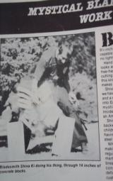 MASTER SHIVA KI ORIGINAL GUNG-HO KNIFE MADE FOR SPECIAL CUSTOM KNIFE HANDBOOK ISSUE 1985-SHARPEST KNIFE EVER SHEATHED! - 9 of 9