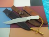MASTER SHIVA KI ORIGINAL GUNG-HO KNIFE MADE FOR SPECIAL CUSTOM KNIFE HANDBOOK ISSUE 1985-SHARPEST KNIFE EVER SHEATHED! - 1 of 9