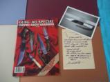 MASTER SHIVA KI ORIGINAL GUNG-HO KNIFE MADE FOR SPECIAL CUSTOM KNIFE HANDBOOK ISSUE 1985-SHARPEST KNIFE EVER SHEATHED! - 6 of 9