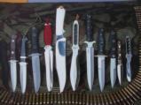 MASTER SHIVA KI ORIGINAL GUNG-HO KNIFE MADE FOR SPECIAL CUSTOM KNIFE HANDBOOK ISSUE 1985-SHARPEST KNIFE EVER SHEATHED! - 8 of 9
