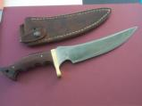 SHIVA KI FIRST EVER KNIFE MADE 1975-GATOR HUNTER-COCOBOLO HANDLE-HISTORICAL KNIFE FROM LOUISIANA