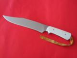 GUNG--HO ORIGINAL BY KI-THE SHIVA KI MYSTIQUE-IT'S MORE THAN A KNIFE-MUCH MORE-SHARPEST KNIFE EVER SHEATHED ! - 1 of 9