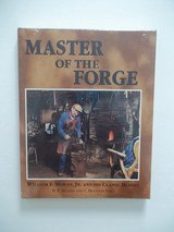 WILLIAM F. BILL MORAN MASTER OF THE FORGE LEATHER BOUND SPECIAL LIMITED NUMBERED GOLD EDITIO