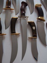"WILLIAM F. ""BILL"" MORAN,Jr. EXQUISTE KNIFE COLLECTION-ALL SHOWN IN BOOKS-IMMACULATE,PRISTINE CONDITION FROM 1954 TO 1988,MANY INCLUDES MORAN - 10 of 15"