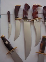 "WILLIAM F. ""BILL"" MORAN,Jr. EXQUISTE KNIFE COLLECTION-ALL SHOWN IN BOOKS-IMMACULATE,PRISTINE CONDITION FROM 1954 TO 1988,MANY INCLUDES MORAN - 14 of 15"
