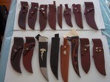 "WILLIAM F. ""BILL"" MORAN,Jr. EXQUISTE KNIFE COLLECTION-ALL SHOWN IN BOOKS-IMMACULATE,PRISTINE CONDITION FROM 1954 TO 1988,MANY INCLUDES MORAN - 13 of 15"