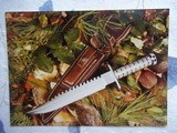 JEAN TANAZACQ RARE 1982/83 VINTAGE SURVIVAL KNIFE MODEL R1-THE RAREST OF ALL MODELS FROM THIS AMAZING MAKER - 13 of 13