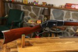 Winchester 1873 Octagon 44-40 WCF Antique 1890 Excellent Original Collection Grade with Letter!