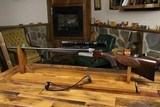 Ludwig Borovnik Ferlach Double Rifle With Zeiss 1971 Vintage.Great Double Rifle!