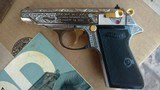 WALTER PP IN 22 CALIBER - FACTORY ENGRAVED - 3 of 7