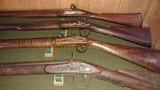 TRADE MUSKET - LEAMAN , PENNSYLVANIA MAKER - CUSTER BATTLE- AMERICAN INDIAN CHIFS