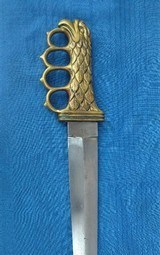 ww2 EAGLE HEAD theater made fighting knife