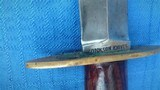 DICKSON KNIVES- WW2 U.S. FIGHTING KNIFE - PICTURED IN WW2 FIGHTING KNIFE BOOK- VERY RARE AMERICAN U.S. KNIFE MAKER
