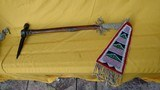 AMERICAN INDIAN PIPE TOMAHAWK WITH DROP