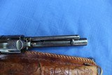 COLT SAA 1st GEN IN 32-20 CALIBER WITH PERIOD TOOLED LEATHER HOLSTER - 3 of 7