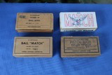 45 AUTO AMMO 4 BOXES NATIONAL MATCH - 200 ROUNDS TOTOL. MILITARY