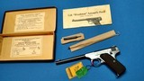 COLT WOODSMAN TARGET 1ST MODEL WITH BOX AND ACCESSORIES - LIKE NEW ! - 4 of 15