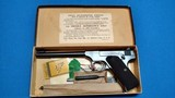 COLT WOODSMAN TARGET 1ST MODEL WITH BOX AND ACCESSORIES - LIKE NEW ! - 1 of 15