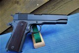 REMINGTON RAND 1911A1 WW2 ORIGINAL - WITH 2 MAGS , BOX, PAPERS AND ID'D TO PFC J. HANNAGAN