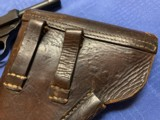 """P38 CYQ """"B"""" Block with Original P38 1944 dated Holster - 5 of 15"""