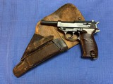 """P38 CYQ """"B"""" Block with Original P38 1944 dated Holster - 12 of 15"""