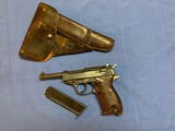 """P38 CYQ """"B"""" Block with Original P38 1944 dated Holster - 1 of 15"""