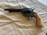Colt SAA Belgium Copy made in 1917 with Original Bone grips - 4 of 14