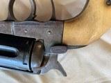 Colt SAA Belgium Copy made in 1917 with Original Bone grips - 9 of 14
