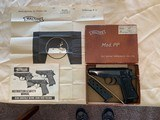 Walter PPK with Original Box and Papers