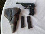 P38 WW2 AC44 with Original Holster and 2 Magazines
