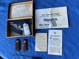 Colt 1903 - with Original Box and Paperwork
