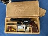 Dan Wesson Factory Engraved 2 Barrel set - like new in original Box !