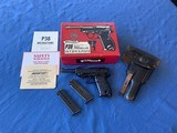 P38 with Original Box and Paperwork 2magazines and holster